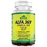 Alfa Vitamins Alfa 3-6-9 1000 Mg Nutrition Supplement, 200 Count