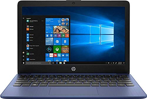 HP Stream 11-AK0001NA 11.6″ Laptop 1366 x 768 pixels Intel Celeron N4000 2GB DDR4-SDRAM 32GB eMMC Wi-Fi 5 802.11ac Windows 10 S – 5AT52EA – UK Keyboard Layout – Plain Box (Renewed)