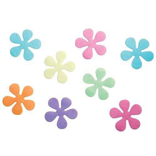 InterDesign Floral Non-Slip Safety Treads for Shower/ Bat...