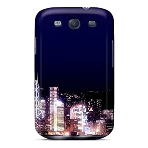 Hot PUY4334COpE Hong Kong Night Tpu Case Cover Compatible With Galaxy S3
