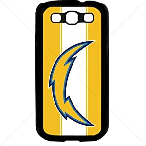 NFL American football San Diego Chargers Fans Samsung Galaxy S3 SIII I9300 TPU Soft Black or White case (Black)