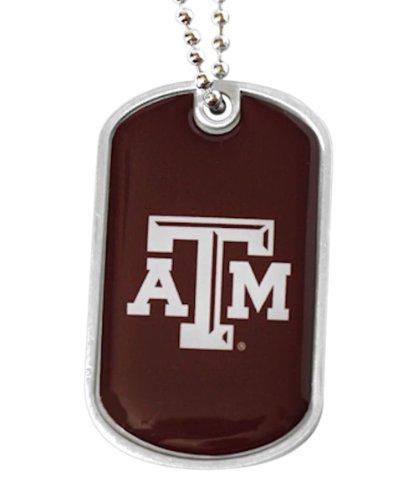 - aminco NCAA Texas A&M Aggies Sports Team Logo Dog Tag Necklace