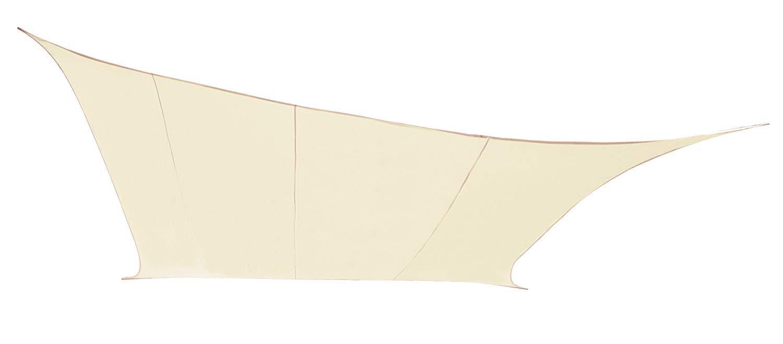 Kookaburra Wasserfest Sonnensegel 5,0m x 4,0m 4,0m 4,0m Rechteck Elfenbein d8a040
