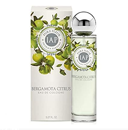 IAP PHARMA PARFUMS - Pure Fluere Bergamota Citrus Eau de Toilette perfume para Mujer (1