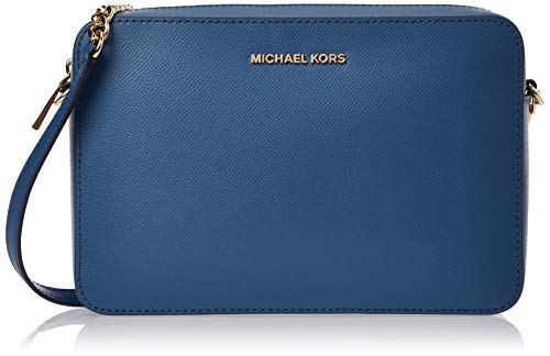 MICHAEL Michael Kors Large East/West Crossbody Dark Chambray One Size