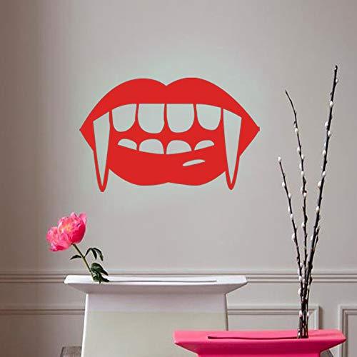 Mural ZOZOSO Personality Creativity Halloween Vampire Tooth Wall Stickers -