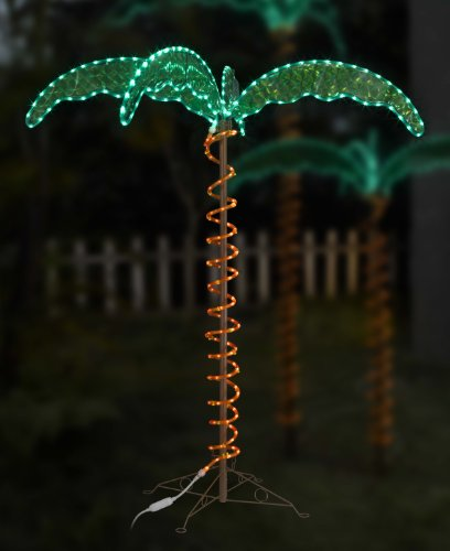 Green LongLife 8080103 Decorative Palm Tree Rope Light