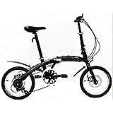 PLENTY Bicicleta Plegable Ligera RIN 16