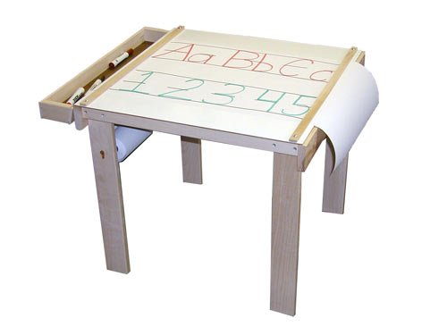 Beka 08402 Art Table one wood tray paper holder under table (paper sold separately) (Beka Art)