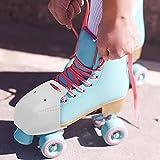 wartleves Roller Skates Toe Guards, 4 Pcs Leather