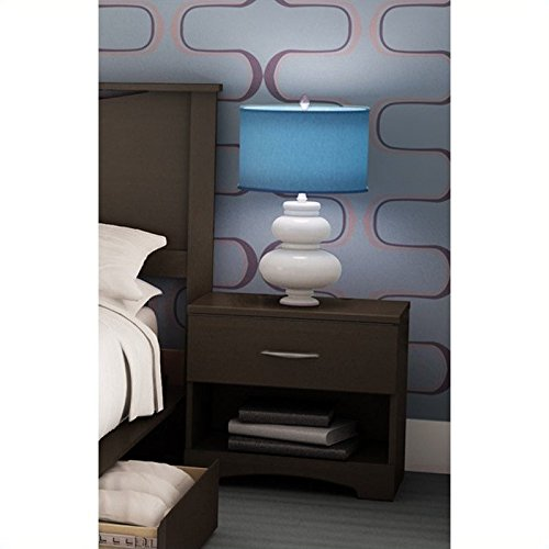 South Shore Furniture, Step One Collection, Night Table, Chocolate (Furniture Bedroom Collections)
