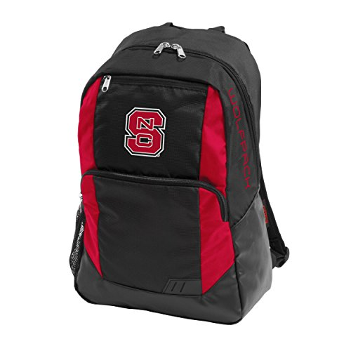 (NCAA North Carolina State Wolfpack Closer Backpack, Adult, Red)