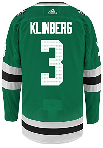 6d628ba4a Image Unavailable. Image not available for. Color  John Klingberg Dallas  Stars Adidas Authentic Home NHL Hockey Jersey