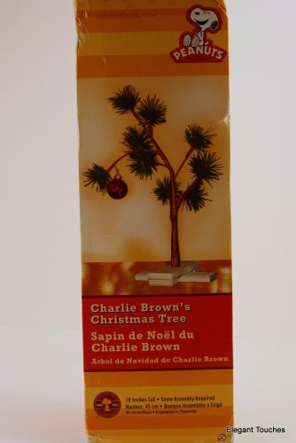 24'' Charlie Brown Pathetic Holiday Tree by Kotulas