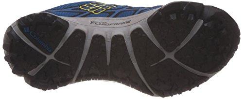 ColumbiaConspiracy III Outdry - Zapatillas de Senderismo hombre Azul Bleu (dark Compass/laser Lemon 402)