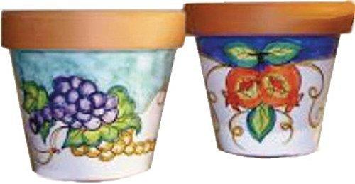 Vasi In Ceramica Di Vietri.Vaso Per Fiori In Terracotta E Ceramica Artistica Di Vietri