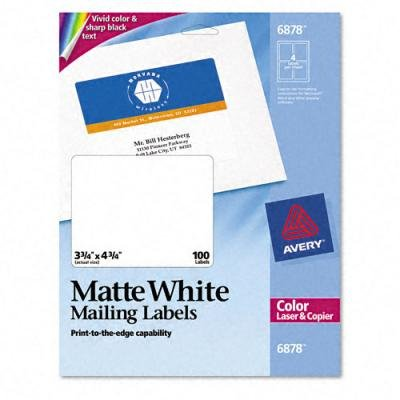 Avery Dennison Mailing Labels - 7