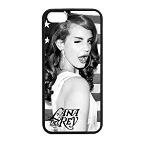 Customized iPhone Case Lana Del Rey Poster Printed Laser Rubber iPhone 5 5S Case Cover