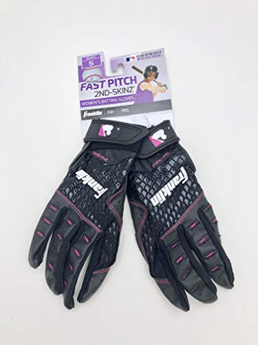 (Franklin Womens Fast Pitch 2nd Skinz Batting Gloves (s, Both))