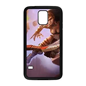 Samsung Galaxy S5 Cell Phone Case Black League of Legends Huntress Sivir KWI8886338KSL
