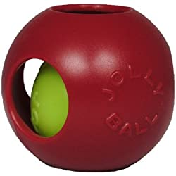 Jolly Pets 8-Inch Teaser Ball, Red