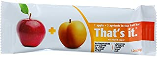 product image for THATS IT FRUIT BAR APPLE APRICOT, 35 GM, PK- 12