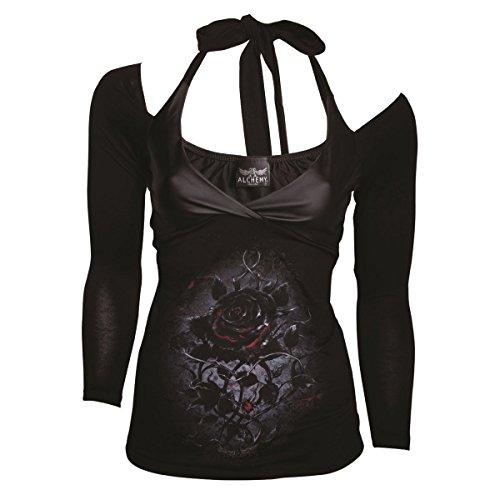 Femmes Strap Des Officielles Rose Alchemy Top Hanoi Discouri Black Gothic KwcqcO8pPX