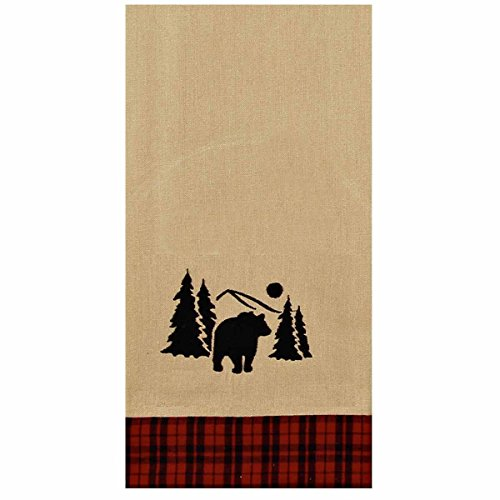 """Home Collection by Raghu ETRE0146 The Woods Lodge Towel, 18"""""""