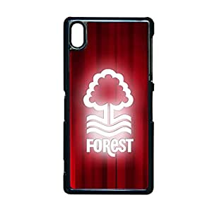 Generic Abs Back Phone Case For Women Custom Design With Nottingham Forest Fc For Sony Z2 Choose Design 2