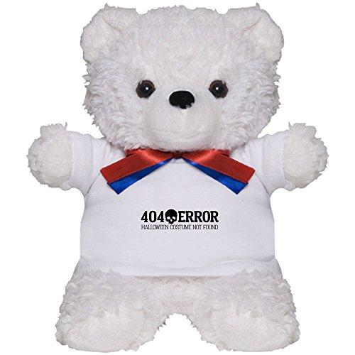 [CafePress - 404 Error Halloween Costume Not Found - Teddy Bear, Plush Stuffed Animal] (404 Error Message Costume)