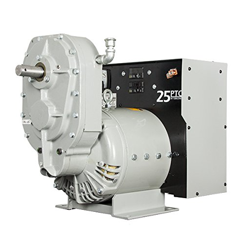 25KW Winco Power Take Off (PTO) Generator 25FPTOC-3/J 120/240V 1-PH 1000RPM - 61155-013