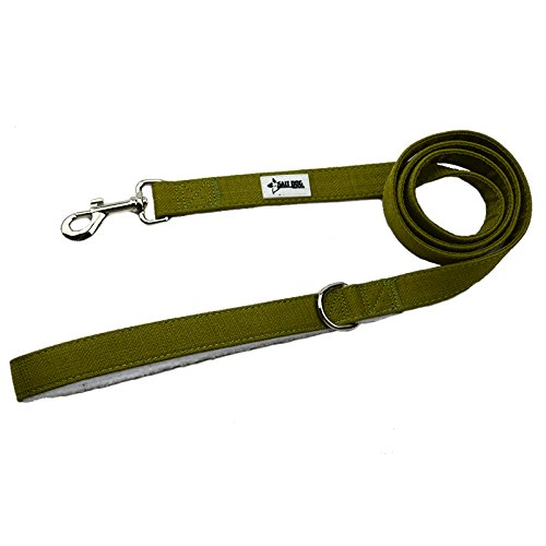 (Salt Dog Natural Hemp Leash (Large, Seaweed Green))