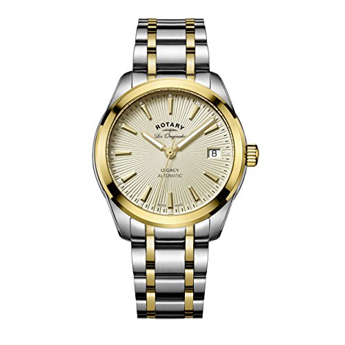 Rotary LB90166-03 Ladies Timepieces Legacy Two Tone Steel Bracelet Watch