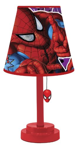 Marvel Spiderman Table Lamp (Desk Lamp Marvel)
