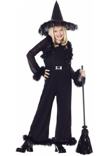 Witch Glamour Child Costume - Small (6-8)