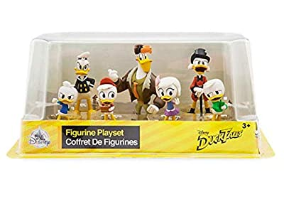 DuckTales Disney 7 pieces Figurine Set