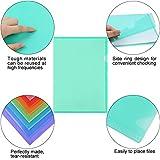EOOUT 45pcs Plastic Clear Document Folders