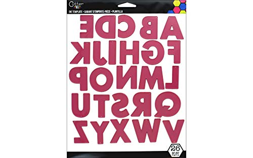 EK Success EKS5480032 Cutting Dies Alphabet 26 Piece