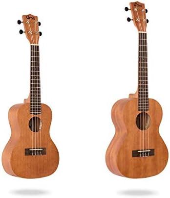 ウクレレ、ウクレレ初心者、ウクレレ小さなギターの学生23インチ、21インチマホガニー、ギタータイプ (Size : 21 inches)