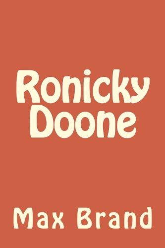 Read Online Ronicky Doone ebook