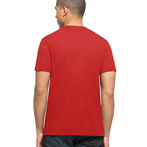 '47 N47 del rosso shirt T marchio Hawks Club Atlanta 1t0P1Hqwx