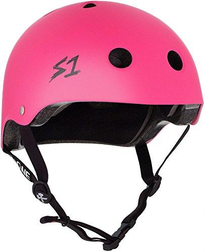 (S-ONE Lifer CPSC - Multi-Impact Helmet -Neon Hot Pink Matte - X-Large (22.5