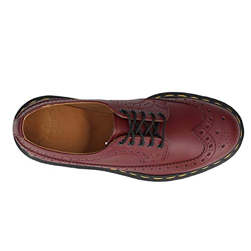 5 Shoes 3989 Rosso Dr Leather Mens Martens Eyelet v8YRt