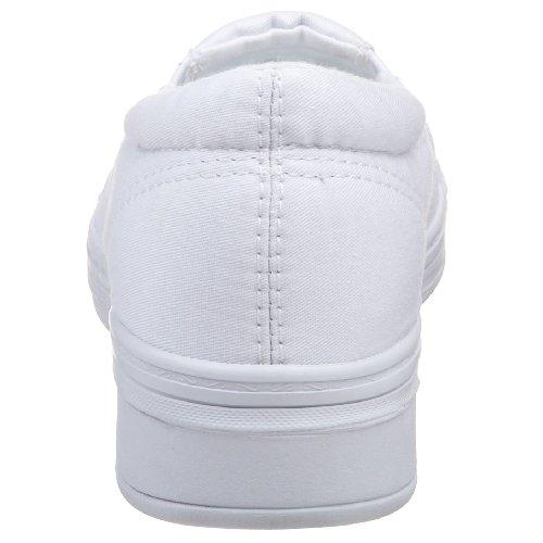Gräshoppor Kvinna Jensen Stretch Twill Slip-on Sneaker White