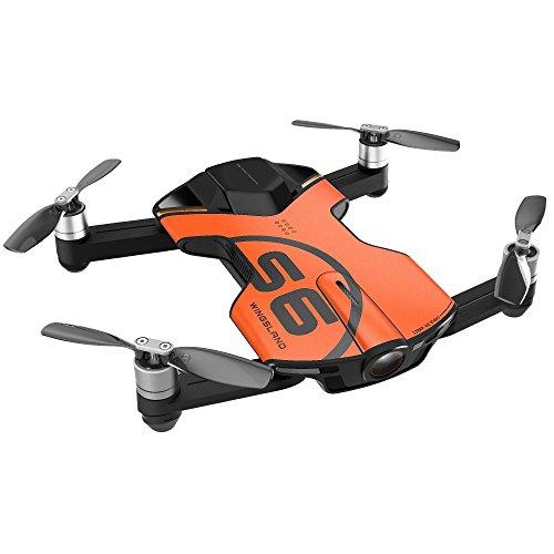 Wingsland S6 Drone 4K Pocket Drone Digital Camera Accessory Kit, Orange (S6 Orange)