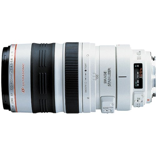 Canon EF 100-400mm f/4.5-5.6L IS USM Telephoto Zoom Lens for Canon SLR Cameras (Canon Ef 50mm F 1.8 Ii Best Price)
