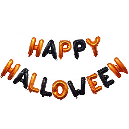 Kiar Halloween Bar Hanging Decoration Horror Combination Balloon Celebration Party Mannequin Birthday Party tv Version All Movies The House ()
