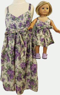一致する少女と人形Clothesパープルフラワーサンドレスサイズ6 B010CG2BRG B010CG2BRG, わんにゃんStyle:0dac168d --- arvoreazul.com.br