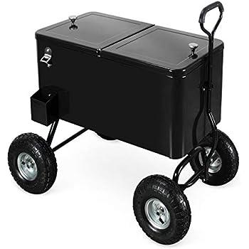 Amazon Com Clevr 80 Quart Qt Party Wagon Cooler Rolling