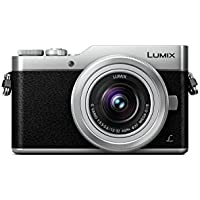 PANASONIC LUMIX GX850 4K Mirrorless Camera with 12-32mm MEGA O.I.S. Lens, 16 Megapixels, 3 Inch Touch LCD, DC-GX850KS (USA SILVER)
